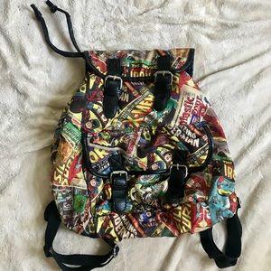 Marvel Drawstring Bookbag
